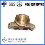 O forjamento de aço de bronze de cobre fazendo à máquina personalizado do CNC forjou as peças Manufactuter