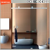 Mesa de banho ajustável de 6-12 Tempered Glass Simple, chuveiro, cabine de duche, banheiro