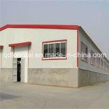 Baixo custo e oficina pré-fabricada de montagem rápida do armazém da construção de aço
