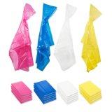 販売のための球の透過使い捨て可能なプラスチックポンチョのRainwear