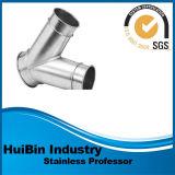 ステンレス製及び炭素鋼45度の配管の冷水のシャワーの構築のための側面ティーの十字の肘
