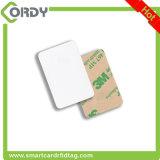 Mini NFC Tag Printable do PVC RFID com etiqueta adesiva