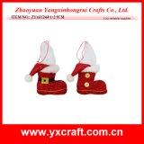 Gaine de Noël de produit de chaussette de la décoration de Noël (ZY16Y193-1-2 14CM)