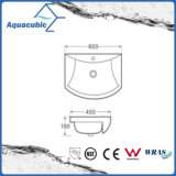 Dispersore di lavaggio Semi-Messo del Governo della stanza da bagno della mano di ceramica del bacino (ACB8160)
