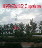 Megatro 220кв 2e8 Sz1 постоянного тока подвески в корпусе Tower
