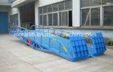 Rampa móvil del embarcadero del cargamento pesado ajustable