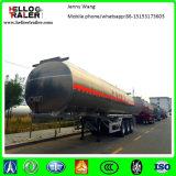 Rimorchio del camion di autocisterna del combustibile dell'acciaio inossidabile dei 3 assi