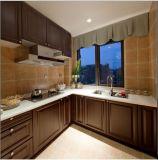 Mobília de madeira branca Yb-1706012 do gabinete de cozinha do projeto 2017 novo