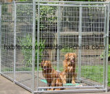 Galvanizado Outdoor Round Tube Temporary Fence Dog Kennel