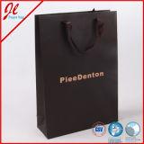 Bolso de compras de empaquetado del almacén de regalo del papel del día de fiesta de la Navidad