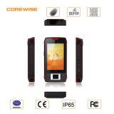 4G Lte schroffes intelligentes Telefon mit 2D Barcode-Scanner und Fingerabdruck-Fühler