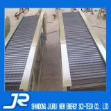 Placa de acero cadena de acero cinta transportadora para la gravedad Industrial