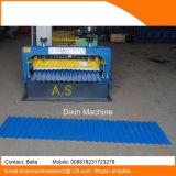 Machine à plancher en carton ondulé pour toiture métallique