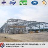 Bâti portique en acier léger pour la construction d'atelier