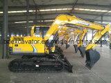 Máquinas escavadoras da esteira rolante de Baoding 8ton com motor de Yanmar