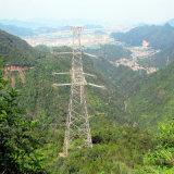 башня пробки передачи силы угла цепи 220kv Doubule стальная