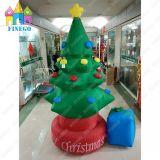 Albero di Natale gonfiabile esterno dell'interno di evento gigante con l'indicatore luminoso del LED