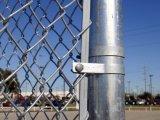 PVC PE는 65mm x 65mm 의 57mm x 57mm 직경 3.00mm 체인 연결 담을 입혔다