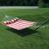 De lichtgewicht Draagbare Nylon Hangmat van het Valscherm voor Backpacking