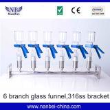 Filtro cheio do distribuidor do aço inoxidável 6-Branch