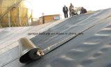 Forro da barragem de HDPE 1000 mícrons de espessura Geomembrana resistente a raios UV
