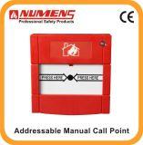 24V, MCP di Fire Alarm, Addressable Manual Call Point (660-001)