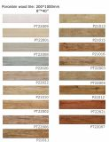 マルチSize 3D DIGITAL Inkjet Wood Finished Porcelain Floor Tile