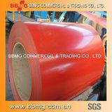 Vorgestrichen/Farbe beschichtete gewölbte Dach-Fliesen des Stahl-ASTM PPGI/heißes/kaltgewalzt Roofing Stahlring Z30-275g