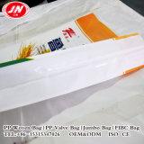 Мешок качества еды сплетенный PP для упаковки зерна муки риса