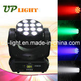 LED d'éclairage d'étape 12 * LED 10W RGBW 4in1 Poutre Moving Head
