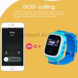 """新しく多彩な0.96個""""子供(Y7S)のためのスクリーンGPSの追跡者の腕時計"""