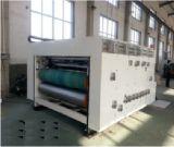 波形を付けられたカートンのペーパー印刷7つのシリーズ及び細長い穴がつく及び型抜き機械