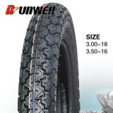 Neumáticos posteriores de la motocicleta 3.00-18 3.50-16