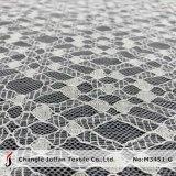 Tecido geométrico em nylon com cordão de nylon (M3451-G)