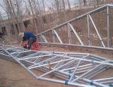 1平方メートルあたり良質の鉄骨構造のニワトリ小屋米ドル35