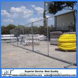 Maillon de chaîne en acier galvanisé de clôtures de construction temporaire