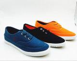 Twee Toevallige Schoenen van de Mensen van het Comfort van Kleuren met RubberZool (et-FEK160263M)