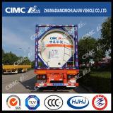 Réservoir liquide Cimc Huajun 39,5cbm pour liquide chimique