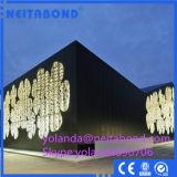 El panel compuesto de aluminio de la serie natural usado en área fría (ACP)