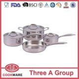 5ply núcleo de cobre utensilios de cocina establecido la línea de cobre utensilios de cocina