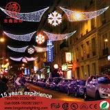 거리를 위한 끈을%s 가진 4*3m 휴일 훈장 크리스마스 LED 주제 빛