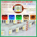 RGBW 4in1 5050SMDチップColorful/LED屈曲のストリップ60PCS/M /Waterproof