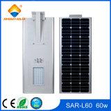 Réverbère 60W Integrated solaire de vente chaud