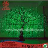 크리스마스 불빛을%s LED Emulational 버드나무 버찌 조경 나무 점화