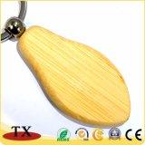 Custom graver le bois de chaîne de clé de chaîne de clé de bois vierge