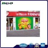 Frontlit flexible de PVC de vinilo autoadhesivo Banner (500DX1000d 18X12 610g)