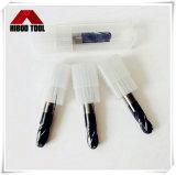 도매 고품질 HRC45 4f 탄화물 공 끝 절단 도구