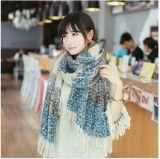 Lenço de Projeto Mulheres Soft Cashmere Cachecol Inverno lenço quente