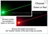 フォークリフトレーザーの誘導システムの赤いゾーンのレーザー光線