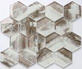 Het Marmeren Kijken van de Druk van Inkjet van Wholesales de Tegel van het Mozaïek van het Glas